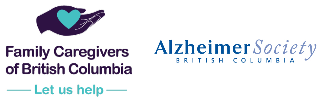 Family Caregivers of B.C. and Alzheimer Society of B.C. logo