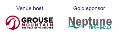 Venue Host - Grouse Mountain, Gold sponsor - Neptune Termina